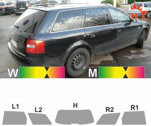 AUDI A6 C5 Avant 1997 bis 2004 passende Tönungsfolie