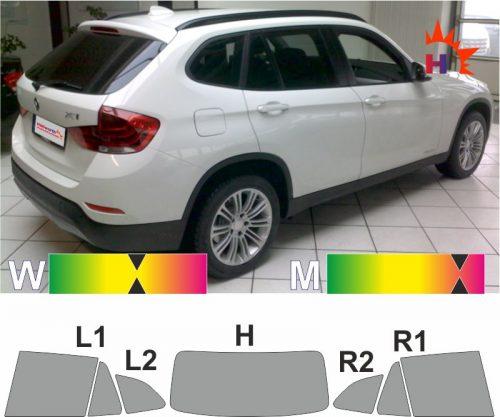 BMW X1 E84 2009 bis 2015 tönungsfolie passgenau
