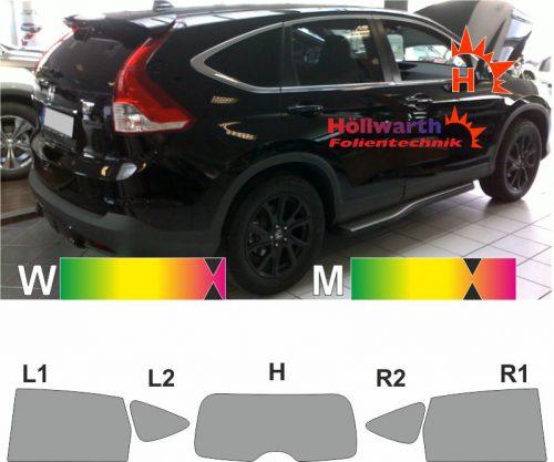 HONDA CR-V RE6 seit 2012 passgenaue Tönungsfolie