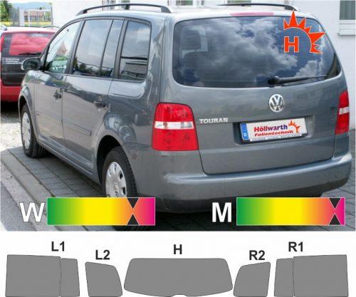 VW Touran 1T 2003 bis 2010 passende Tönungsfolie