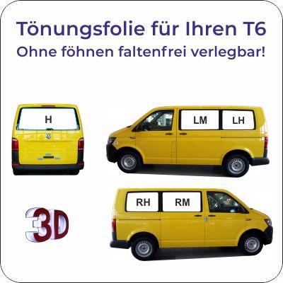 Tönungsfolie VW T6 faltenfrei verlegen