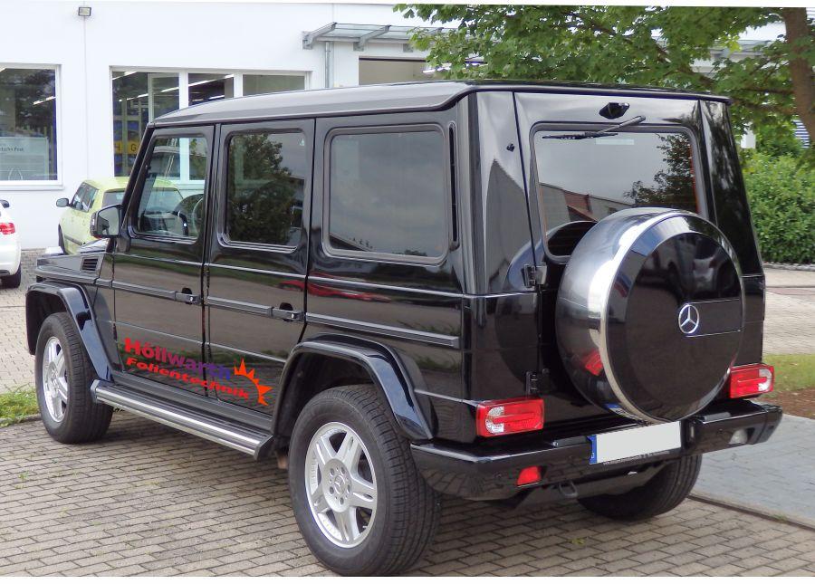 toenungsfolie Mercedes M-Klasse