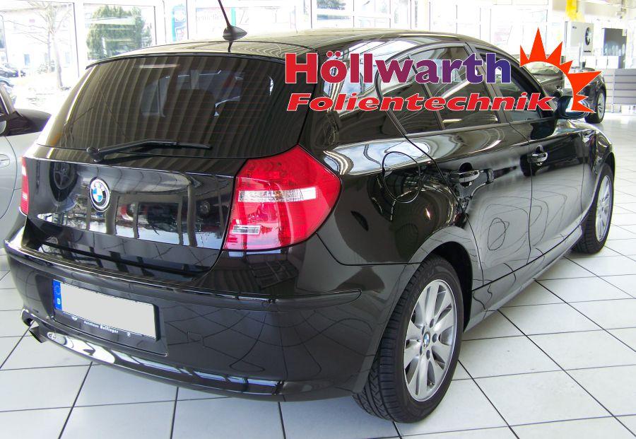 Schwarze Scheiben 1er BMW