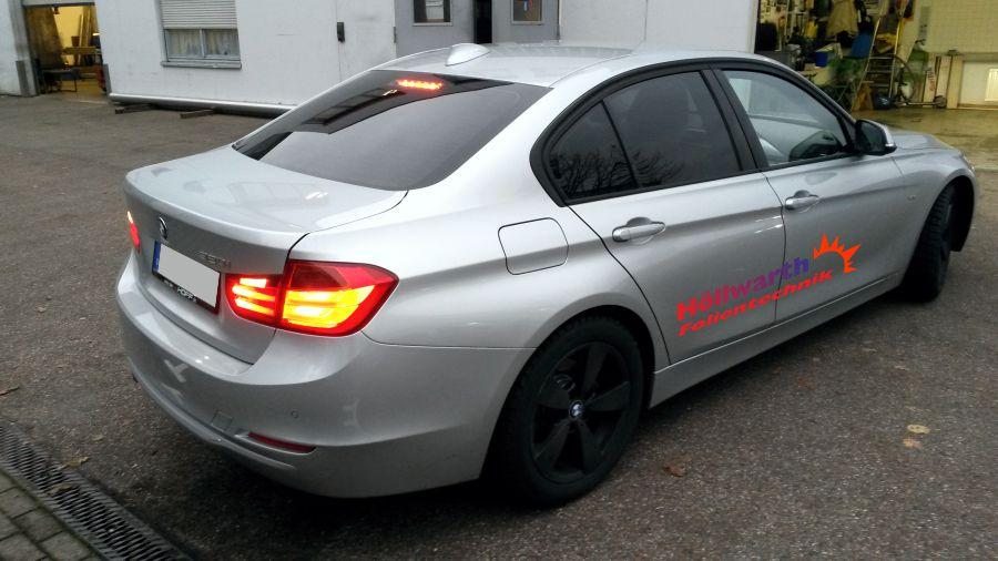 BMW 3er foliert