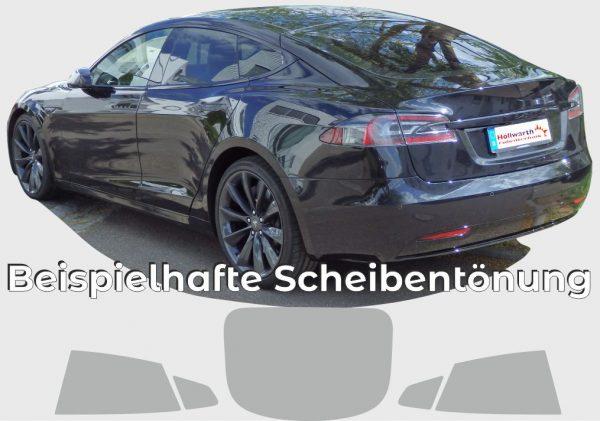 TESLA Model S getönt von Höllwarth Folientechnik