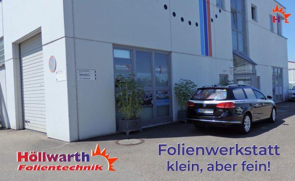 Höllwarth Folientechnik scheiben folieren lassen in Urbach