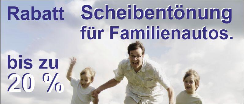 Familientabatt Scheibentönen bei Höllwarth Folientechnik