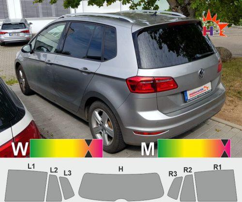 VW Golf Sportsvan seit 2014 passgenaue tönungsfolie